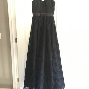 Prom Black Cache New with Tags Formal Dress
